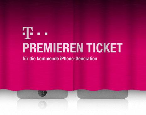 Telekom Premieren-Ticket