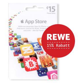 iTunes Store Karte bei Rewe