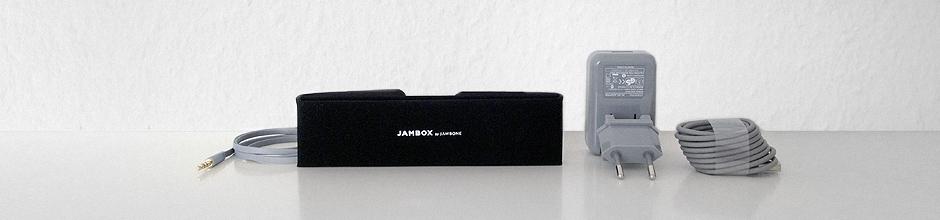 Jambox Zubehör