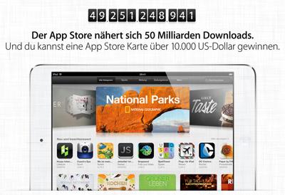 App Store Gewinnspiel