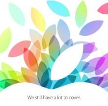 iPad 2013 Event