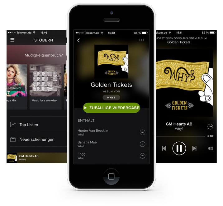 Spotify App hero