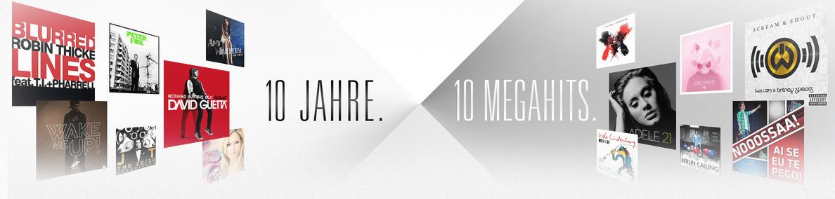 hero 10 Jahre iTunes