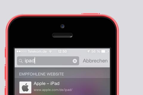 iOS 8 #TuT — Ortungsdienste für Spotlight