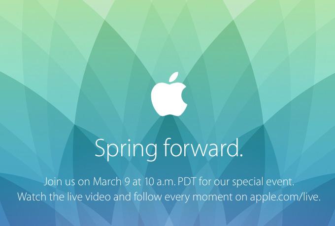 Apple Mediaevent März 2015