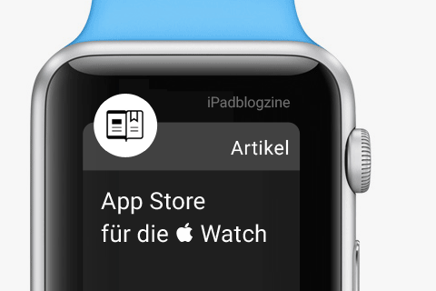 Teaser App Store für die  Watch