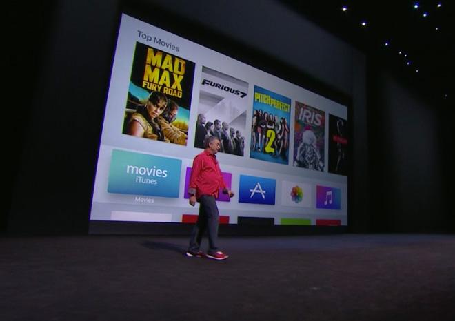 Apple TV 2015 UI