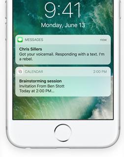 iOS 10 Homescreen hero