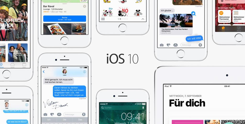 iOS 10 hero