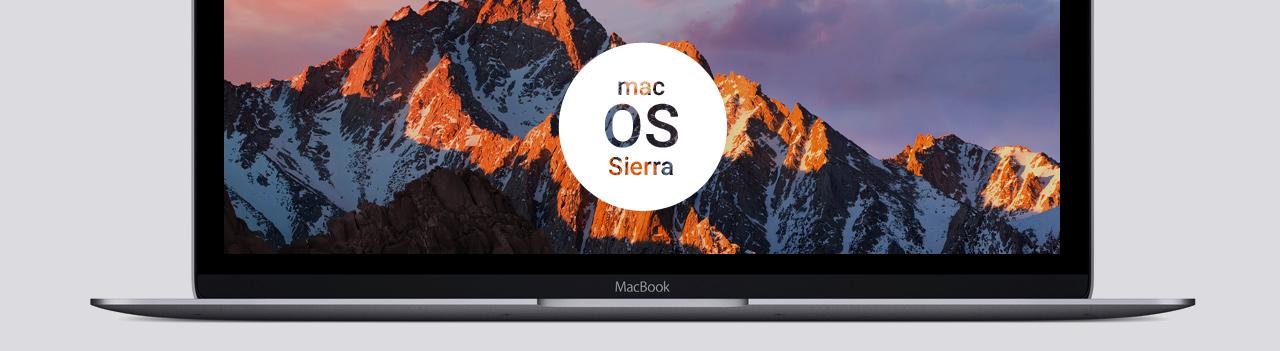 macOS Sierra hero
