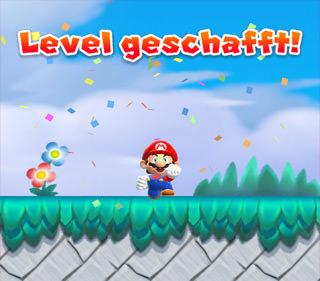 Super Mario Run Levelende