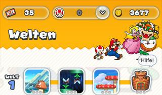 Super Mario Run Welten