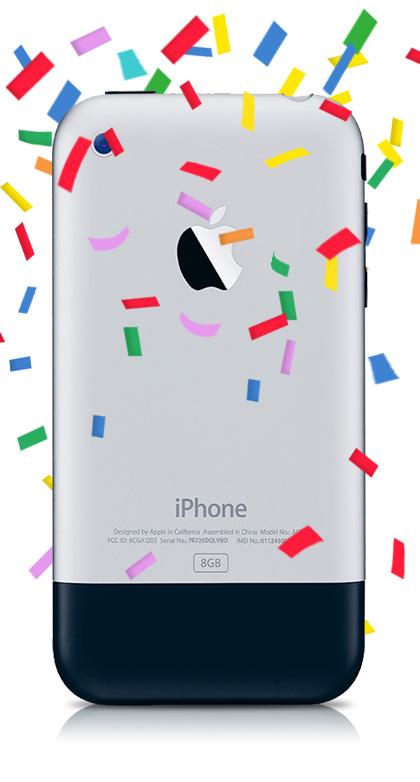 Das iPhone wird 10.