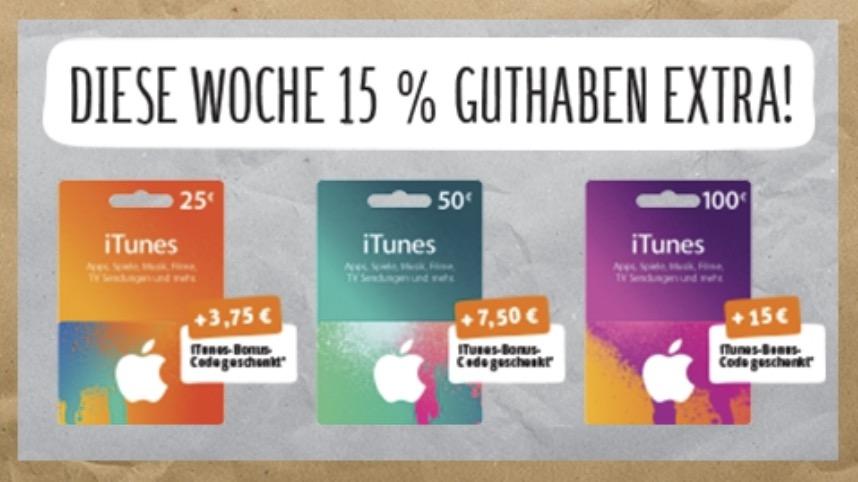 iTunes Rabattaktion 5'15