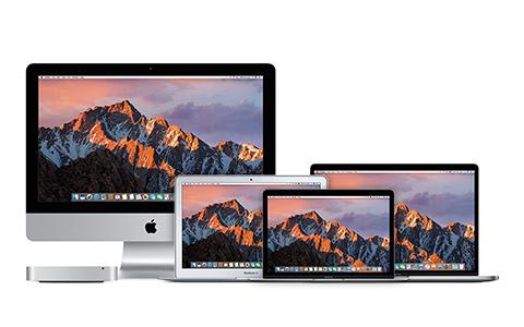 Mac Produktreihe