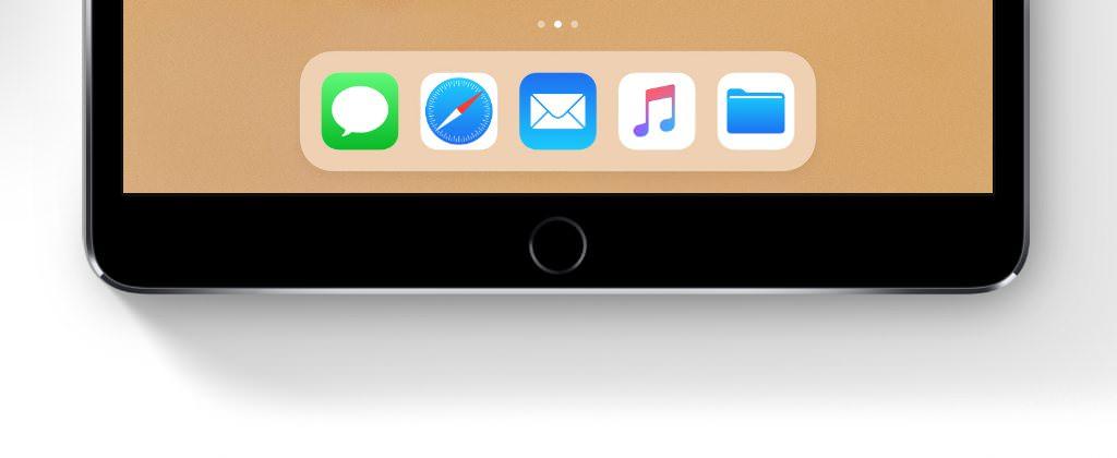 iOS 11 Dock
