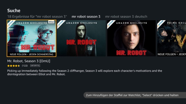 hero Amazon Prime Video auf Apple TV