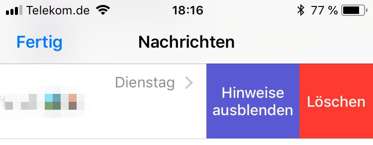 Workaround Textbug iOS