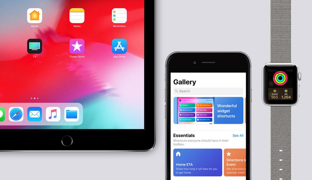 iOS 12 für iPad, iPhone und Apple Watch