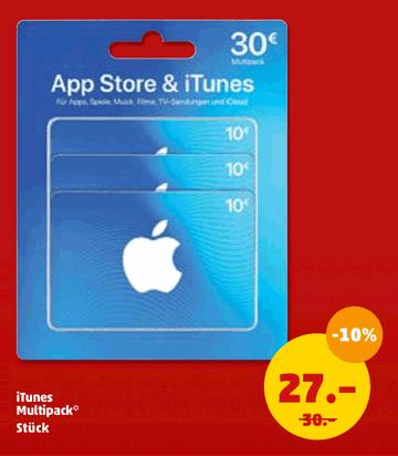Anzeige iTunes Penny Aktion