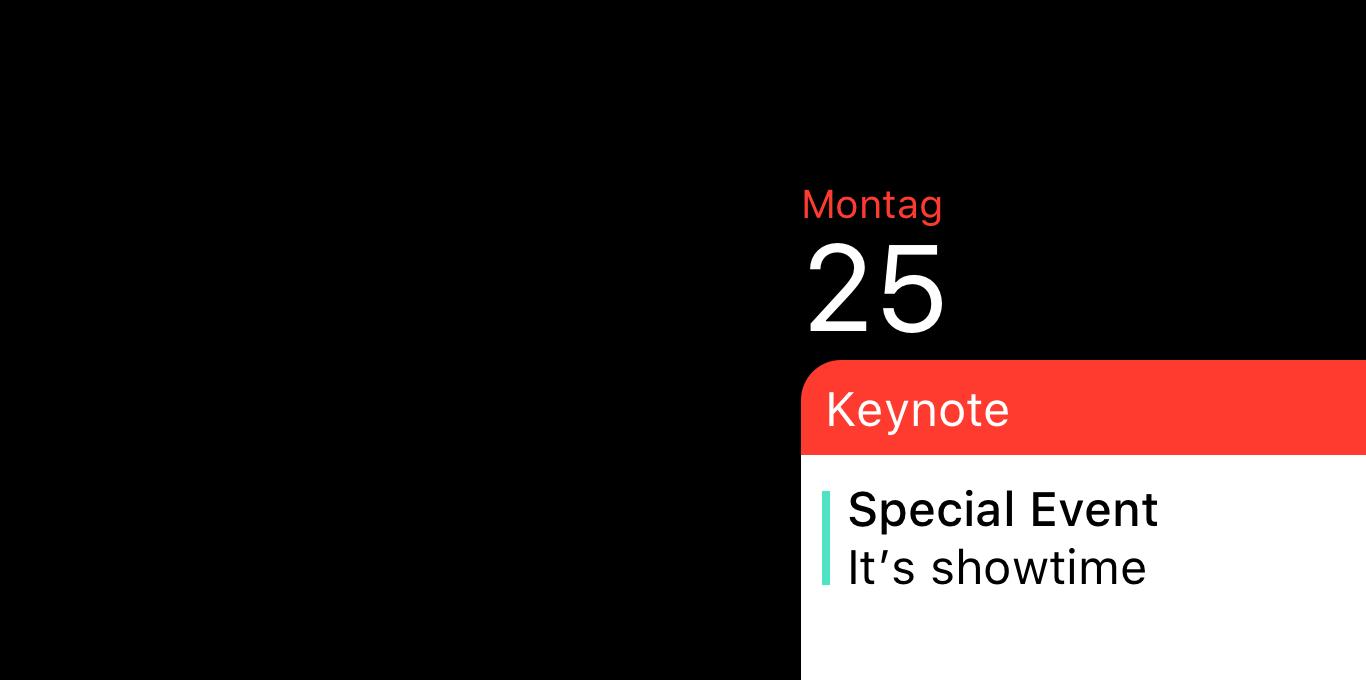 Teaser Apple Event am 25. März