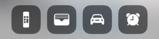 iOS 12. Kontrollzentrum auf dem iPhone