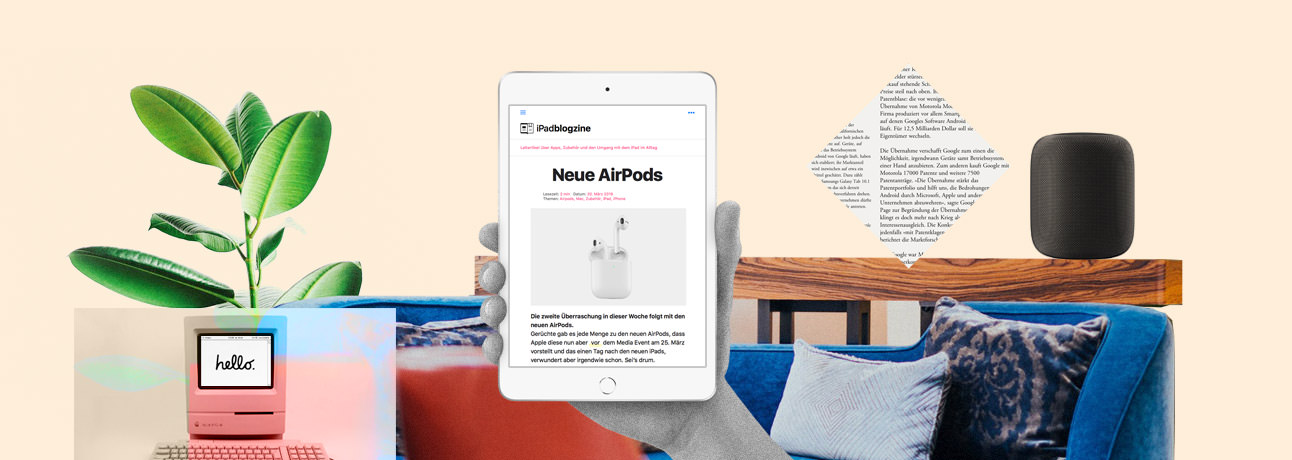 iPadblogzine collage