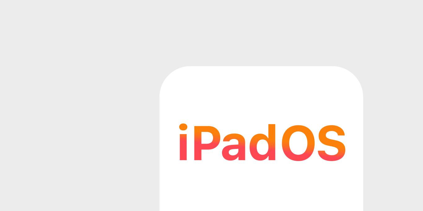 iPadOS App teaser