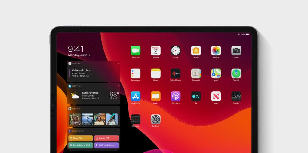 teaser iPadOS Homescreen Visual