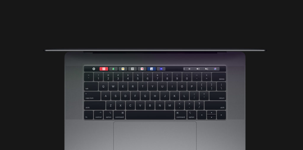 visual MacBook Pro 2019