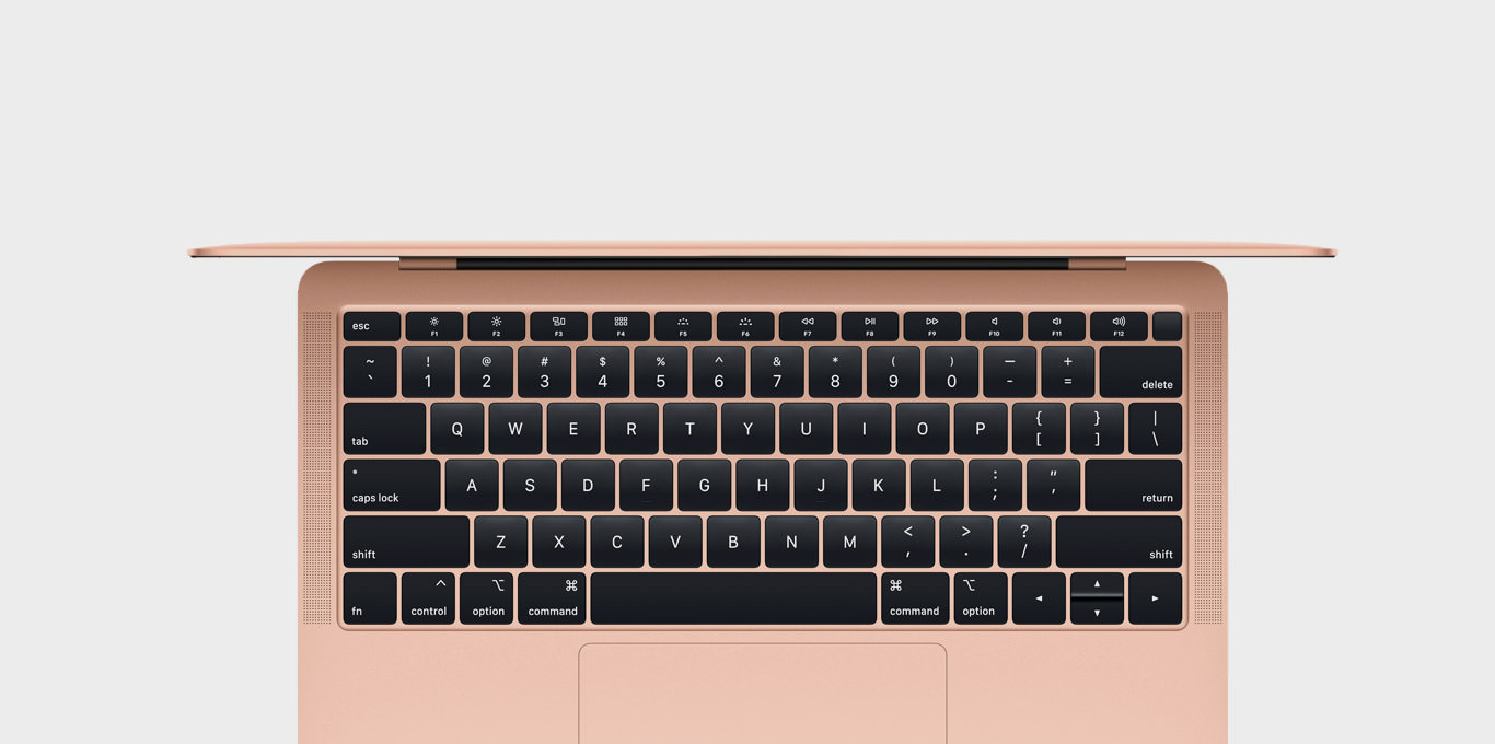 visual MacBook Air 2019 Gold