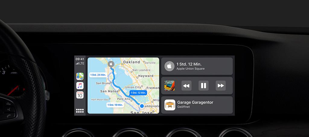 visual CarPlay in iOS 13