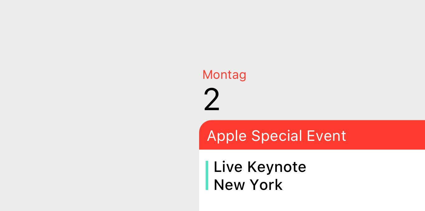 Teaser Apple Event: 2 Dezember