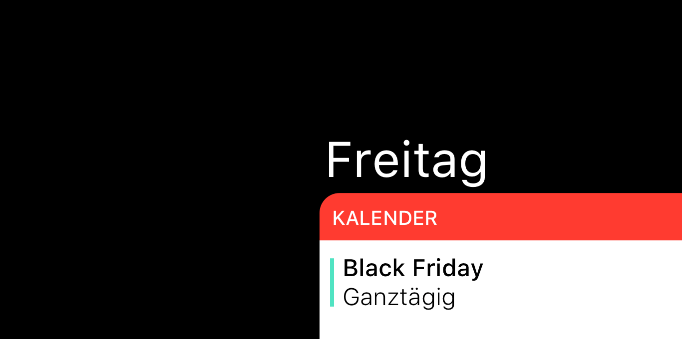 Teaser Black Friday ist zurück
