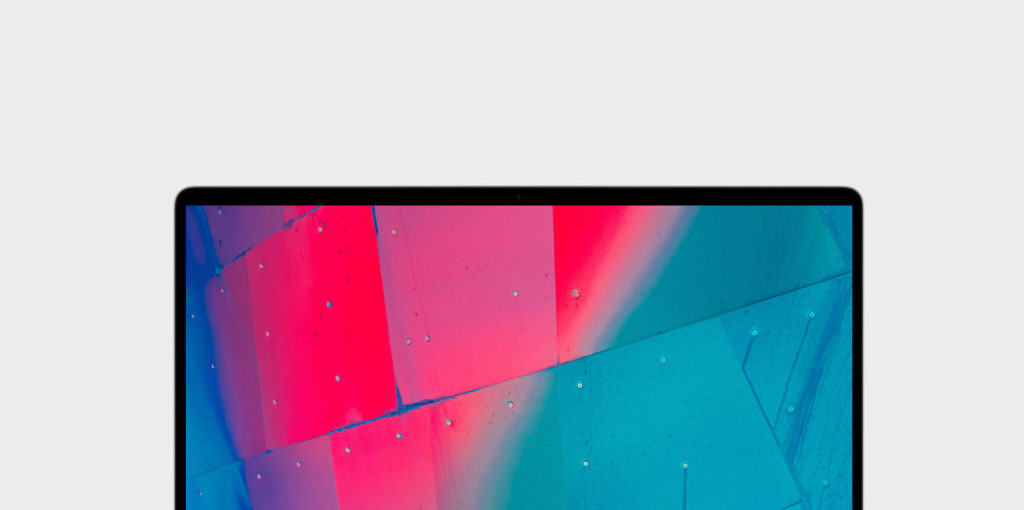 Display vom MacBook Pro 16-Zoll