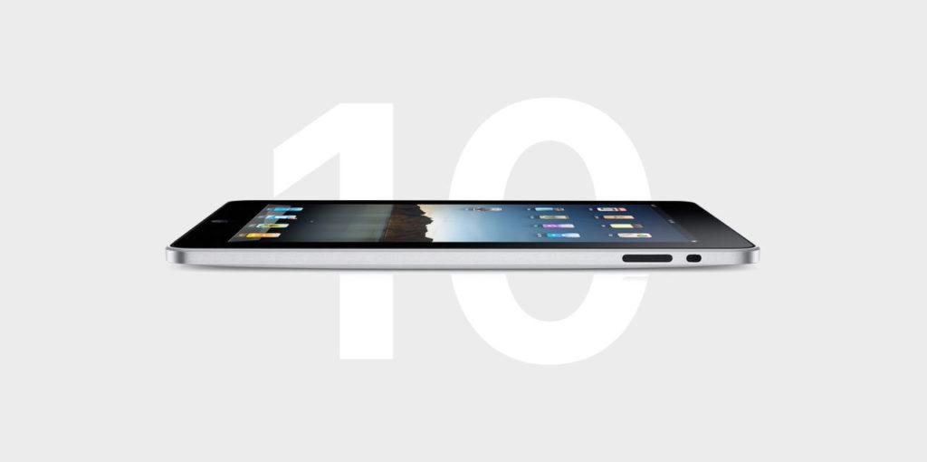 iPad 1. Generation 2010