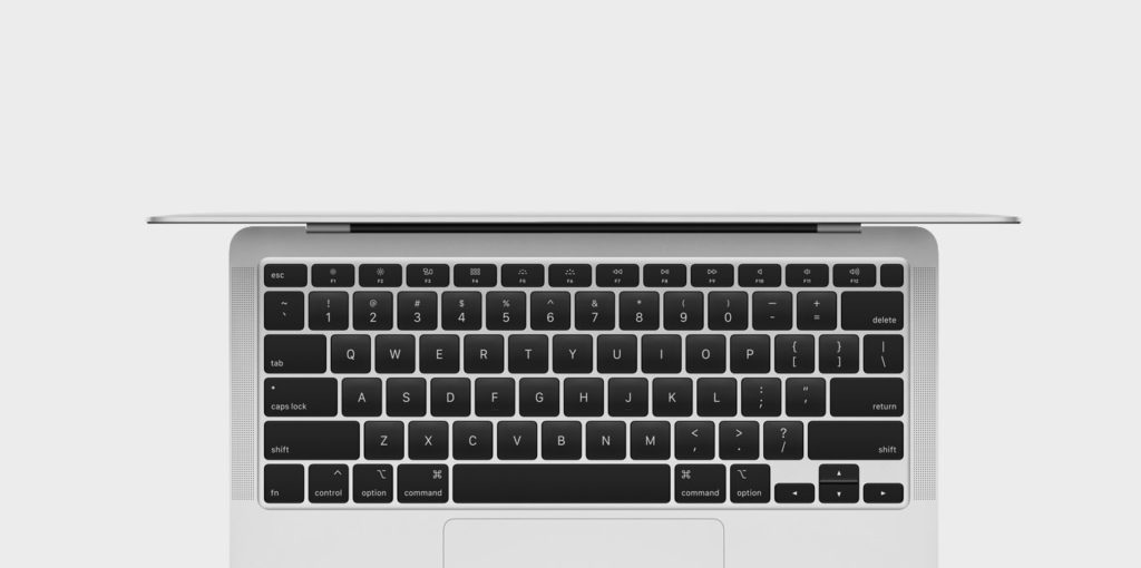 Tastatur vom MacBook Air 2020