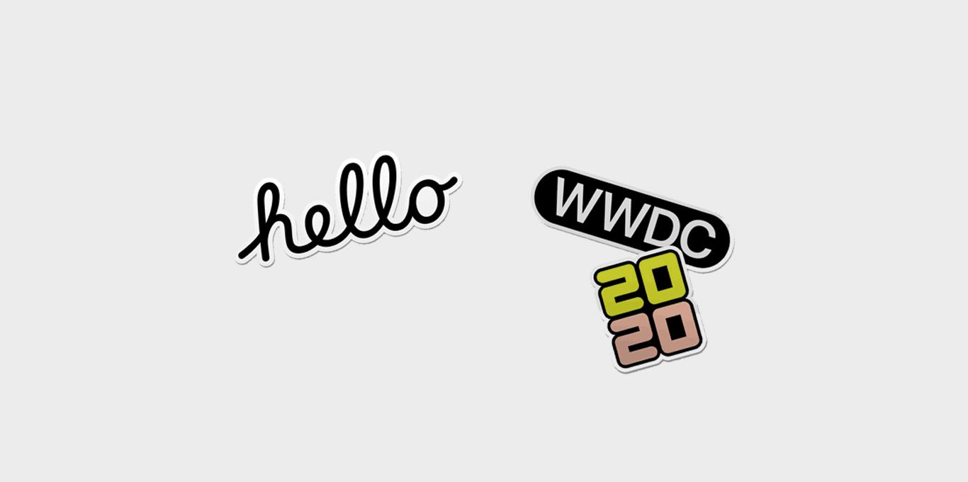 Sticker WWDC 2020