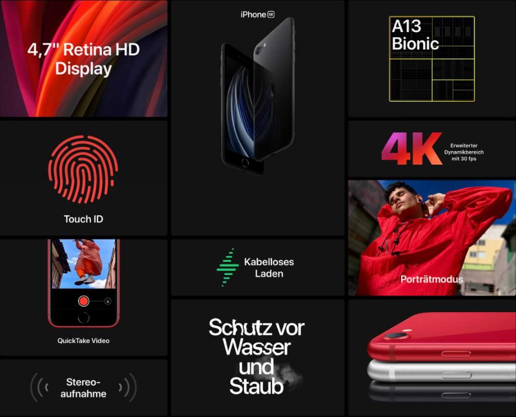 Hardware Features vom neuen iPhone SE