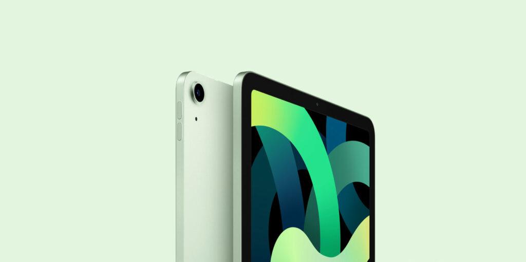 iPad Air 4 in grün