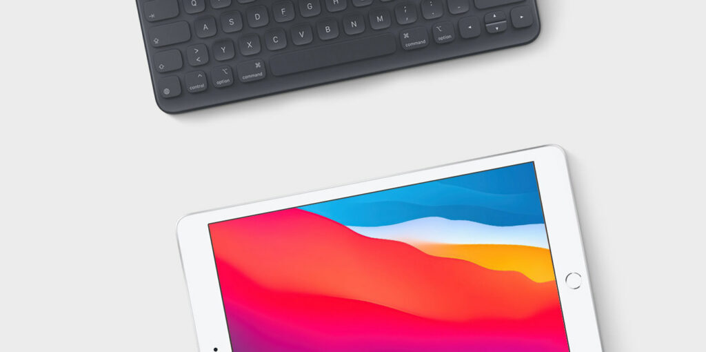 iPad 8 mit Smart Keyboard