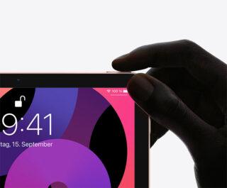 Touch ID im neuen iPad Air