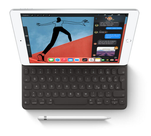 iPad 2020 mit Smart Keyboard