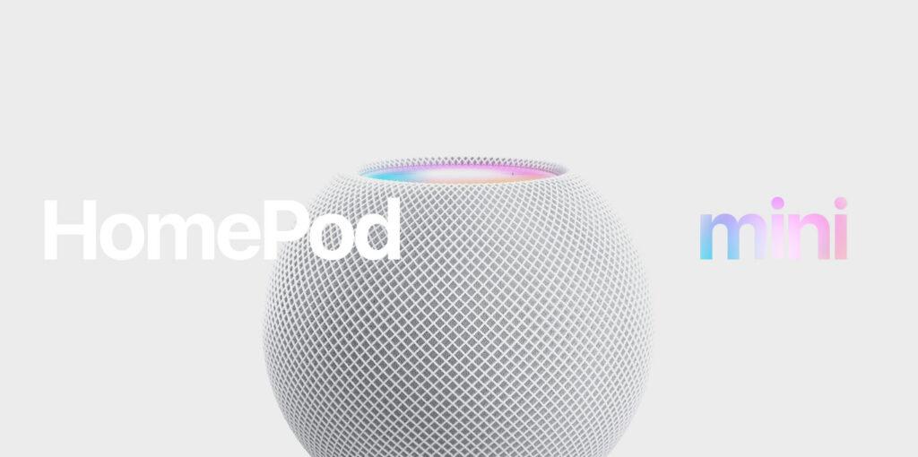 HomePod mini teaser