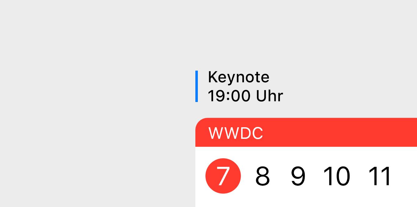 Teaser WWDC 2021