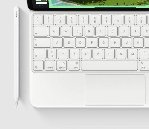 Magic Keyboard von oben